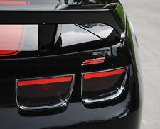 New 2 PCS RED chrome SS TRUNK BADGE Fender Emblem Chevy IMPALA COBALT Camaro