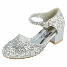 All Seasons Silver Shoes for Girls