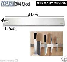 heavy duty 304 STEEL MAGNECTIC knife holder self Adhesive Rack tool  Storage