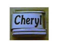 Italian Charms  Names  Name Cheryl
