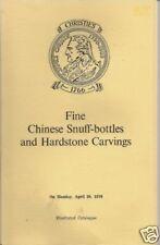 RARE CHRISTIE'S CHINESE SNUFF BOTTLES Rothschild