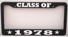 CLASS OF 1978 LICENSE PLATE FRAME FITS CAMARO TRANS AM