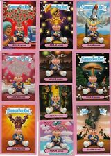 GARBAGE PAIL KIDS FLASHBACK 3 ADAM BOMB MANIA PINK COMPLETE SET 10/10 CARDS