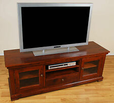 Solid Oak HD Plasma TV Stand Entertainment Center NEW!