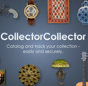 Catalog your Antique Camera collection with 1YR CollectorCollector subscription