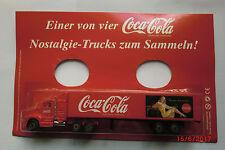 1:87 LKW-Coca Cola-Nostalgie-Trucks zum Sammeln-neuwertig in OVP Nr.033