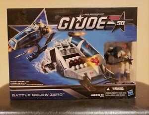GI Joe 50th Anniversary - Battle Below Zero - ToysRus Ghost Hawk, Cobra W.O.L.F.