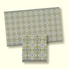 Rosette weiß-Gold für Deckenlampen Karton 7cm. Für 1:12 Puppenhaus 3D