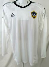 Los Angeles Galaxy Mens Size 8 (L) Adidas Long Sleeve Screened Jersey LAG 3