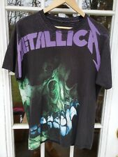 Metallica All-Over Print T-shirt Large Electric Circus Pushead Metal Rock