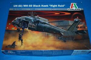"""Italeri 2706 - UH-60/MH-60 Black Hawk """"Night Raid""""  scala 1/48"""