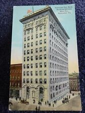 Early 1900's The American National Bank Building in Richmond, VA Virginia PC