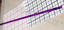 1 Clear Purple 1/2� Diameter 36� Inch Long Acrylic Plexiglass Lucite Colored Rod