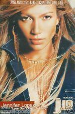 "Jennifer Lopez ""J. Lo - Love Don'T Cost A Thing "" Hong Kong Promo Poster"