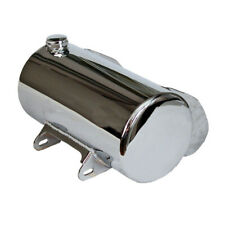 Paughco Oil Tank, Chrome, Sidefill, for Harley Davidson Softail 86-99