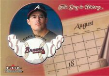 2002 Fleer Tradition This Day in History #16 Greg Maddux