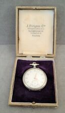 Antique POCKET WATCH in JEWELER'S BOX Kaiserstunde Open Face WORKS PERFECTLY