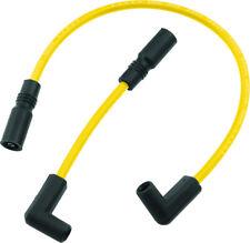 Spark Plug Wire Set 8mm Yellow Accel 171097-Y For 99-17 Harley-Davidson Dyna