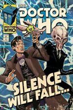 DOCTOR WHO ~ SILENCE WILL FALL 24x36 COMIC ART POSTER DR TV BBC Matt Smith