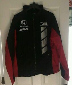Indy Series Rahal Letterman Lanigan Honda Downforce Soft Shell Jacket NWT Sz XS