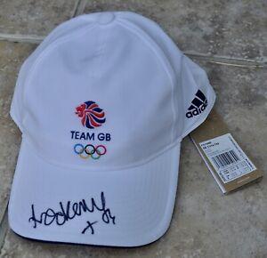 Laura Kenny Signed Adidas Team GB Tokyo 2020 Olympics Cap Cycling #2 BNWT