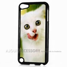 ( For iPod Touch 6 ) Back Case Cover AJ10254 Cute Cat