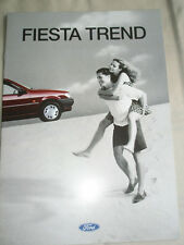 Ford Fiesta Trend brochure Jul 1995 German text