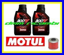 Kit Tagliando HONDA CRF 150 R 07>08 + Filtro Olio MOTUL 300V 10W/40 2007 2008