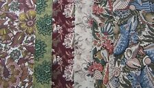 "REPRODUCTION FABRIC STRIPS: SIX 6"" X 40"" SMITHSONIAN or SHELBURNE #29 RJR"
