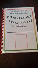 Mi libro revistas médicas comunicación en caso de emergencia Sen demencia Cuidado Hogar