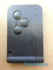 Renault Megane 3 Button key fob card case and Key Blade NEW