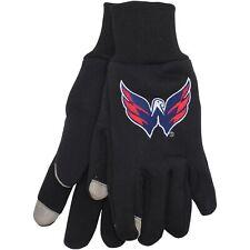 Washington Capitals McArthur Team Logo Touch Gloves -
