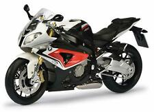 BMW S 1000 RR Racing Red Alpin White Schuco Diecast Motorcycle 1 10