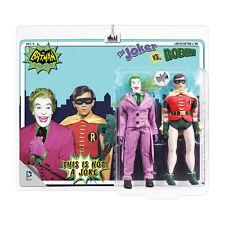 Batman Classic 66 TV Show Mego Style 8 Inch Figure Two-Pack: Joker VS. Robin