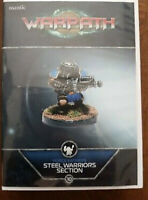 Mantic Games Warpath Forge Fathers Steel Warriors Section Fast & Free P&P