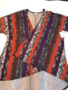 *NWT Women's Lularoe Lindsay Open Cardigan Kimono 3/4 Sleeve Size Small