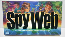 Parker Brothers SPY WEB board game--Great Espionage game!