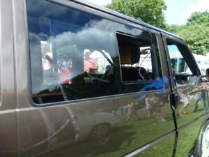 VW T4 Transporter Side Window Sliding Glass Smoked
