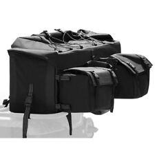"Black 33"" ATV Rear Rack Soft-Luggage Storage Cargo Gear Pack Bag"