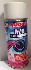 ABRO Bubble Gum scent A/C AIR CON SANITISER DEODORISER AIR FRESHENER BOMB SPRAY