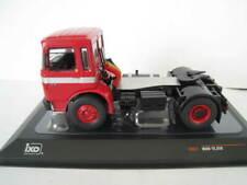 MAN 16.320 schwarz rot Zugmachine 1972-1977 Truck LKW Camion NEU IXO 1:43