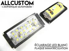 AMPOULES LED PLAQUE IMMATRICULATION XENON pour BMW E46 SERIE 3 COUPE 04-06 & M3