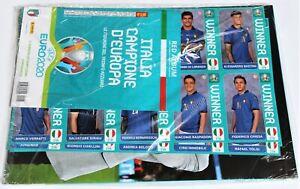 Panini EURO 2020™ WINNER POSTER Komplettset Italien incl. 30 Sticker - Update