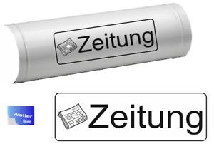 Zeitungs Aufkleber Zeitung Schriftzug Aufkleber für Zeitungsrolle (R38/1)