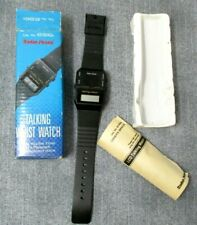 Radio Shack Talking Watch Vintage NOS 63-5042A Tells Time In A Pleasant Voice