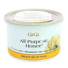 16 Cans of 14oz Gigi All Purpose Honee Wax Hair Removal 0330 Waxing