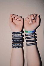 ALL 10 Suicide Prevention / Self Love Wristbands Bundle