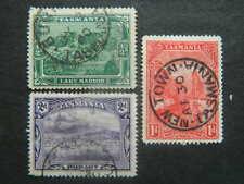 1745  TASMANIA SC# 86-88/(SG 229-231)USED   CAT  $18