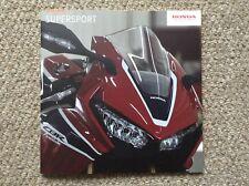 HONDA Supersport Motorcycle Range Brochure 2017 - Honda CBR1000RR CBR650F 28pgs