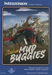 Stadium Mud Buggies for Intellivision, Blue Sky Rangers Official Reprint - NIS